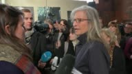 New Annie Leibovitz exhibition opens in London Annie Leibovitz speaking to press SOT