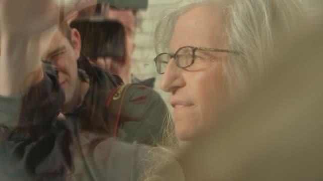 New Annie Leibovitz exhibition opens in London Leibovitz speaking to press at exhibition