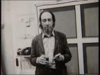 Richard Hamilton polaroid exhibition MUSIC Polaroid photos of Richard Hamilton in display in art exhibition Ends