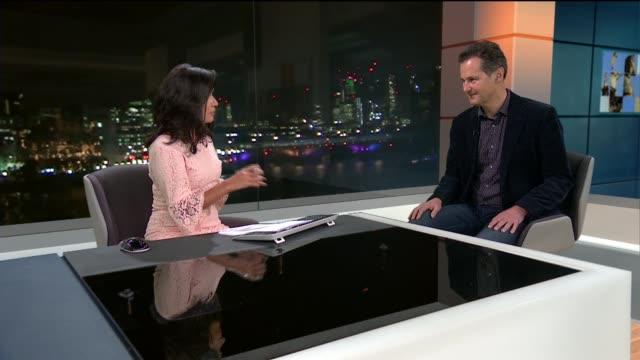 Tim Flach interview ENGLAND London GIR INT Tim Flach LIVE STUDIO interview SOT