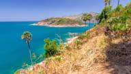 Isola di Phuket vista dal Promthep cape punto di vista