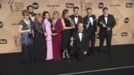 Phyllis Logan Tom Cullen Lesley Nicol Sophie McShera Joanne Froggatt Raquel Cassidy Kevin Doyle Julian Ovenden Allen Leech and Jeremy Swift at the...