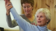 MS Physical therapists working with senior patient / Manchester, Vermont, USA