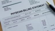Physician Medical Past Due Bill