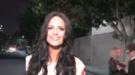 Pia Toscano greets fans at Tru in Hollywood 02/10/12