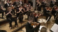 MS Pianist and musicians performing in orchestra / London, United Kingdom