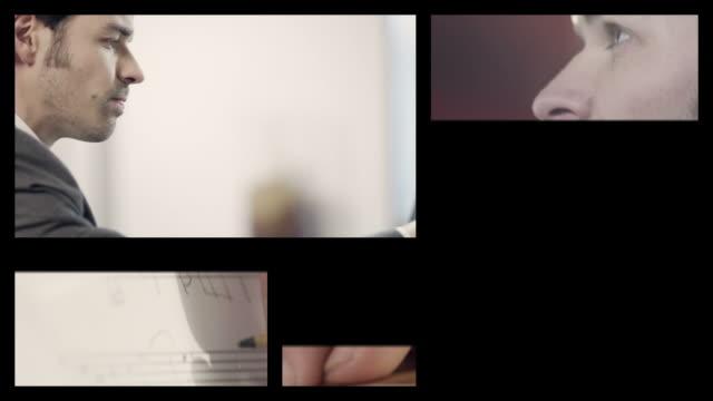Pianista compone musica (Splitscreen