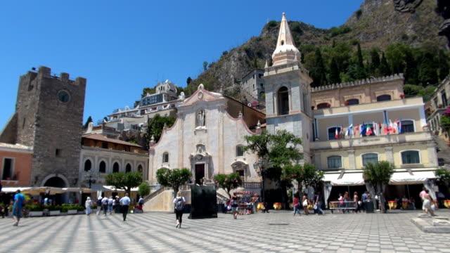 Piazza IX Aprile - Taormina, Sicily, Italy