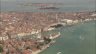 AERIAL Piazza San Marco, Venice, Italy