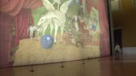 Picasso's largest work a stage curtain created for the ballet 'Parade' in 1917 is going on display in Rome