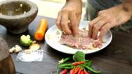 CU/Marinate meat