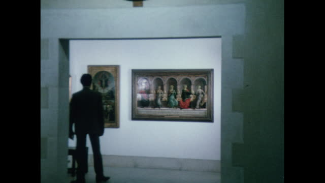 MONTAGE Picture gallery at Christ Church College in Oxford / United Kingdom