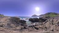Picturesque Beach, Hawaii