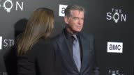 Pierce Brosnan at the Premiere Of AMC's 'The Son' on April 03 2017 in Hollywood California