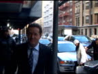 Piers Morgan at the Luxembourg Cafe at the Celebrity Sightings in New York at New York NY