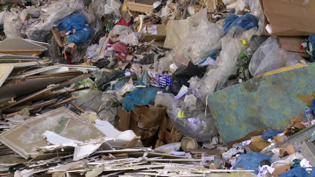 Piles Of Mixed Waste Tilt Up
