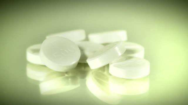 Pills turning. HD