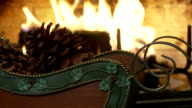 Pine Cone Sleigh and Fireplace Loop