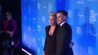 Pink and Carey Hart at 2015 UNICEF Snowflake Ball at Cipriani Wall Street on December 01 2015 in New York City