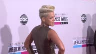 Pink at The 40th American Music Awards Arrivals on in Los Angeles CA