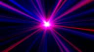 Pink & blauen Plasma-Blast, HD