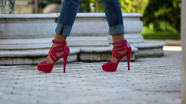 Scarpe Rosa donna