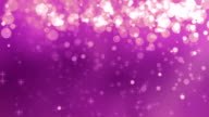 4K Pink Glitter Falling Background Loopable