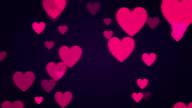 Cuore rosa sfondo (ad anello