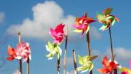 Pinwheels on the beach
