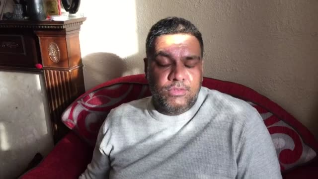 Pizza delivery driver scarred for life by acid attack ENGLAND London INT Imran Khan interview SOT
