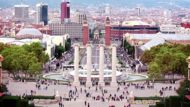 Plaça d'Espanya, Barcelona, Spanje Spanje