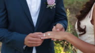 Placing Wedding Ring
