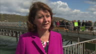 Plaid Cymru leader Leanne Wood saying that if Welsh voters are considering voting Conservative then 'they should consider the past the Tories have...