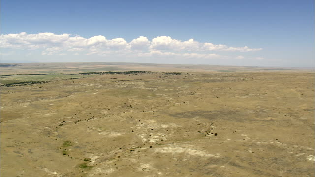 Plains West Of Billings  - Aerial View - Montana, Stillwater County, United States