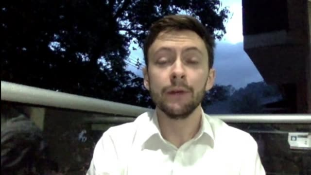 Plane crash wipes out Brazilian football team Via INTERNET DAY Oliver Griffin interview SOT