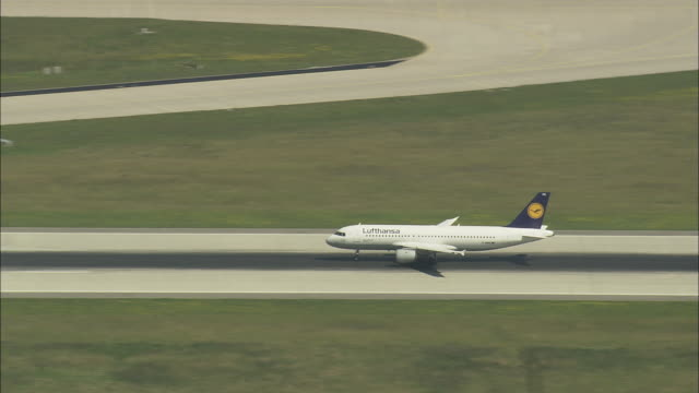 Plane Taking Off From Munich Airport