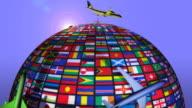 (Loop + Alpha) Planes around the World