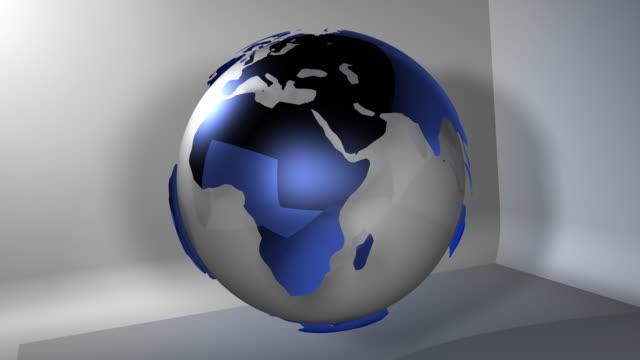 Planet Earth Lichtglobus (HD-Loop