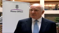 Home Office INT Dr John Reid MP interview SOT Drugs to reduce sex drive antidepressant drugs neither is a substitute for prison