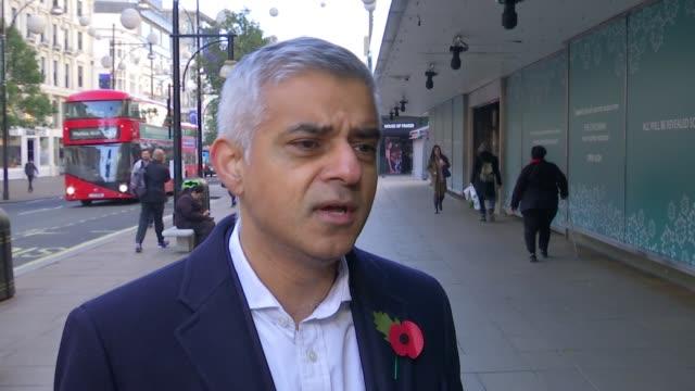 Plans to pedestrianise Oxford Street Sadiq Khan interview SOT Residents genuinely have concerns about displacement nobody wants buses going from here...