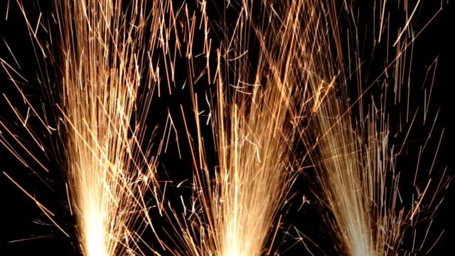 Plasma cutting Sparks