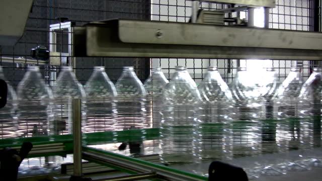 Plastic bottle production unit