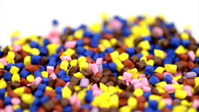 Plastic granules dolly