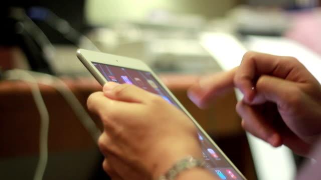 Spielen tablet