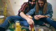 Spielerische Paar