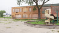WS PAN Playground at abandoned school