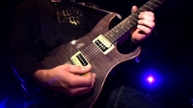 HD: Playing An Electric Guitar