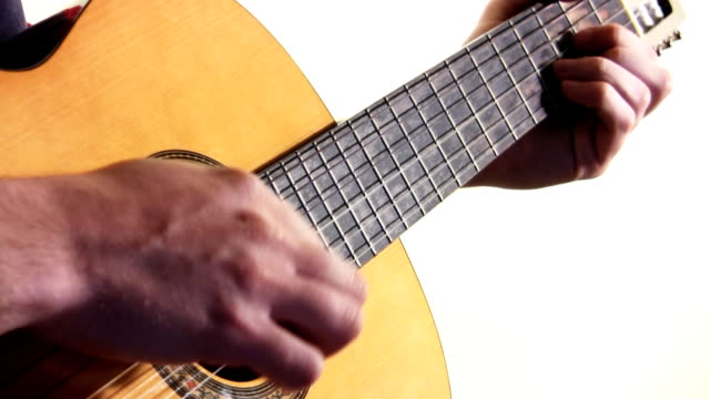 Playing guitar (HD)