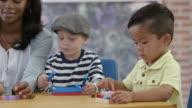 Playing in Preschool