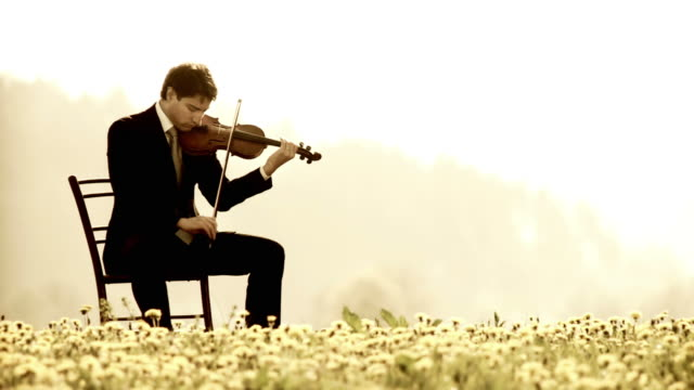 HD DOLLY: Playing The Violin In Nature